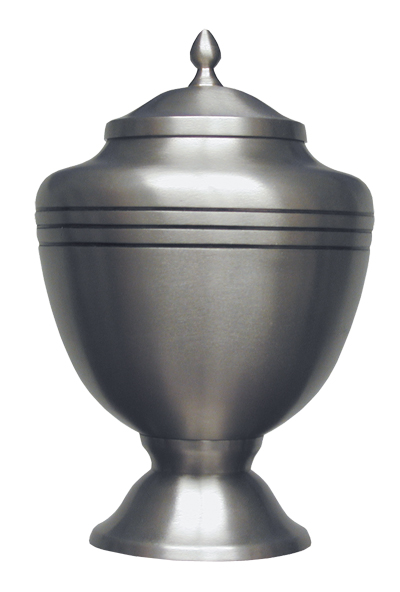 Pewter Chalice Keepsake  30.00 3 H x 1.75 Dia Nominal Cubic Inches