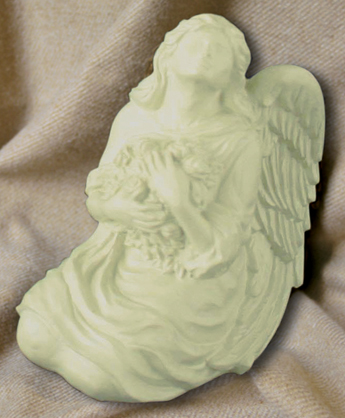 Serenity Angel Keepsake PorcelainPatina  66.00 5.625 Tall 14 Cubic Inches