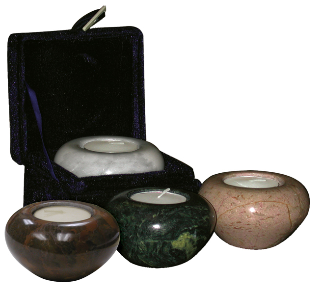 Marble Votive Candle Keepsake $ 57.00 1.5 H x 3 Dia. (nominal cubic inches)