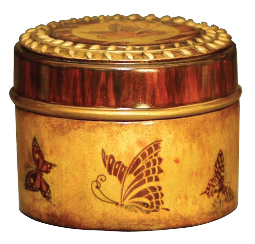 Butterfly Keepsake Jar $ 114.00 3.5 W x 3 H (5 Cubic Inches)