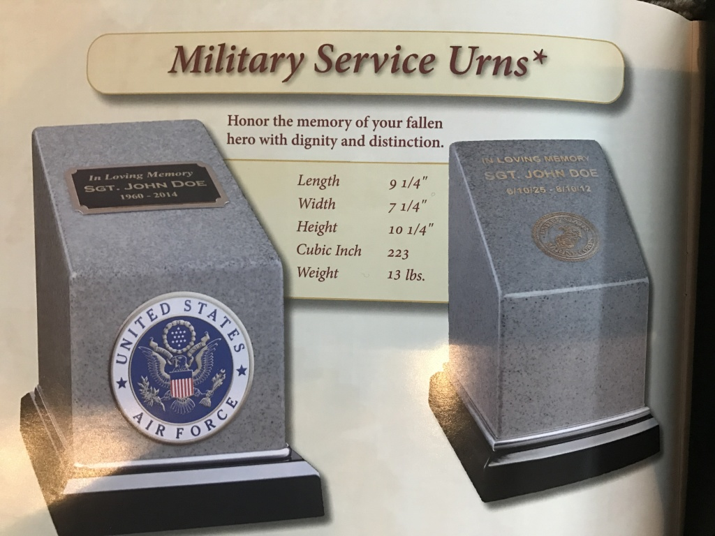 Military Urn $ 435.00