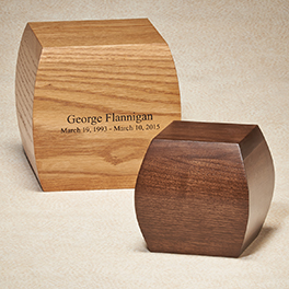 Bainbridge Urn $ 295.00 7.5 Cube (200 cu. in.) Keepsake $ 220.00 5.5 Cube (65 cu. in.)