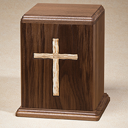 Rugged Cross Urn $ 265.00 8W x 7-1/2D x 9H ( 200 cu. in.)