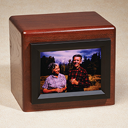 Remember Me Companion Urn $ 350.00 10W x 8D x 8-3/4H (400 cu. in.)