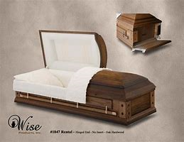 Oak Rental Casket