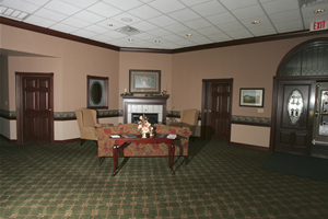 FoyerFireplace Area