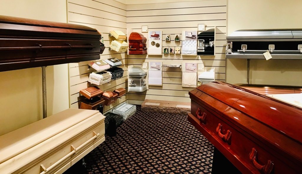 Casket Display Room