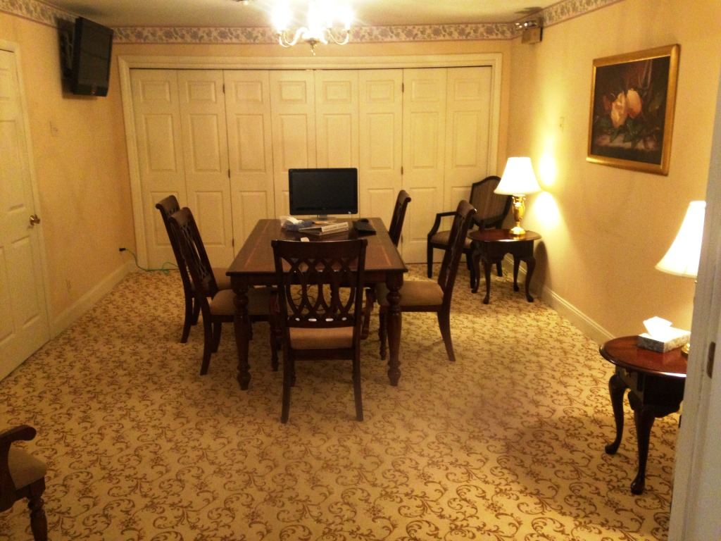 Arrangement and confrence room.