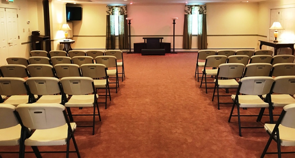 Newly remodeled large visitation rooms.