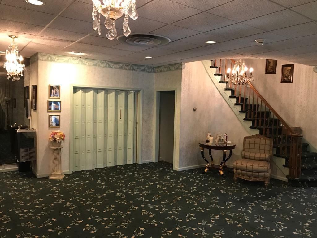 Biondi Funeral Home Lobby