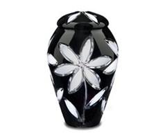 Crystal Lily Urn