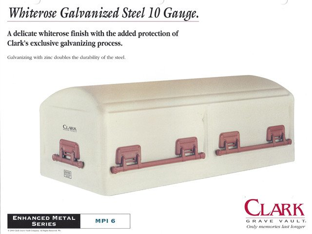 Clark 10 Gauge Galvanized Steel