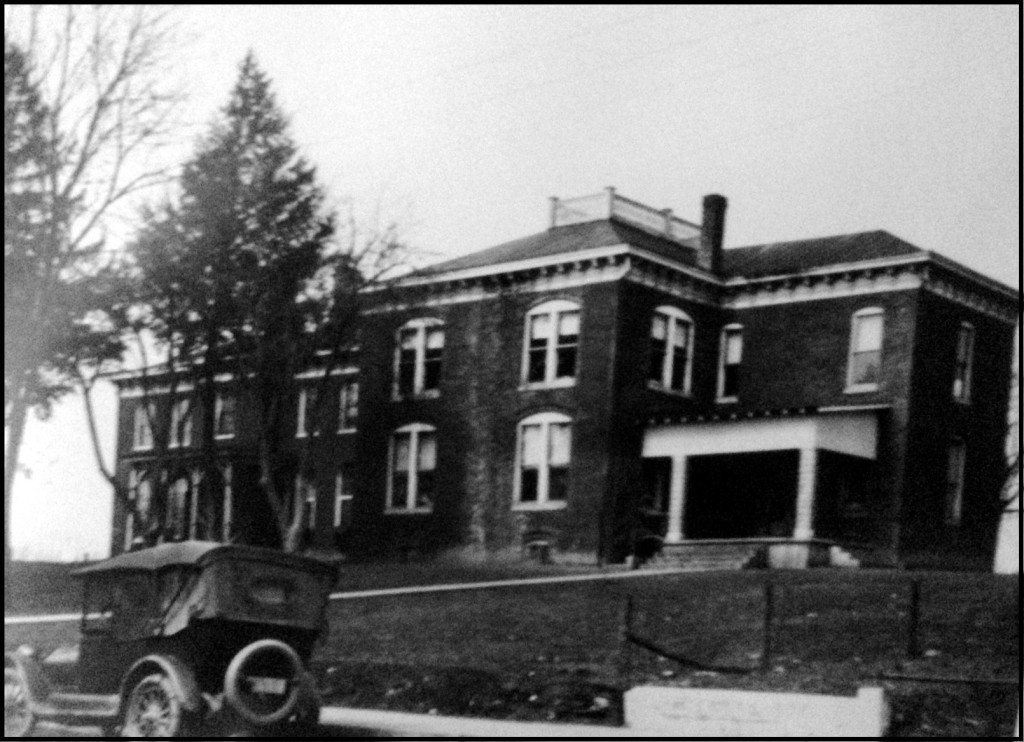 Fox Funeral Home around 1930's when building became a funeral home