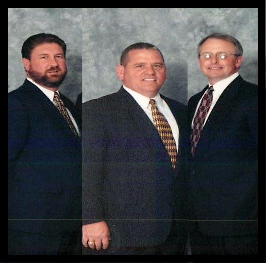 Scottie Ernst, Bill Demrow, and Dan Barnett previous owners