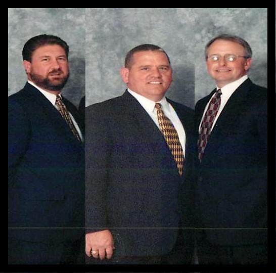 Scottie Ernst, Bill Demrow, and Dan Barnett (previous owners)