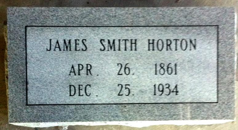 The Monument of James Smith Horton
