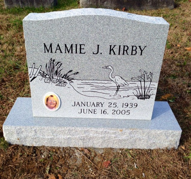 The Monument of Mamie J. Kirby