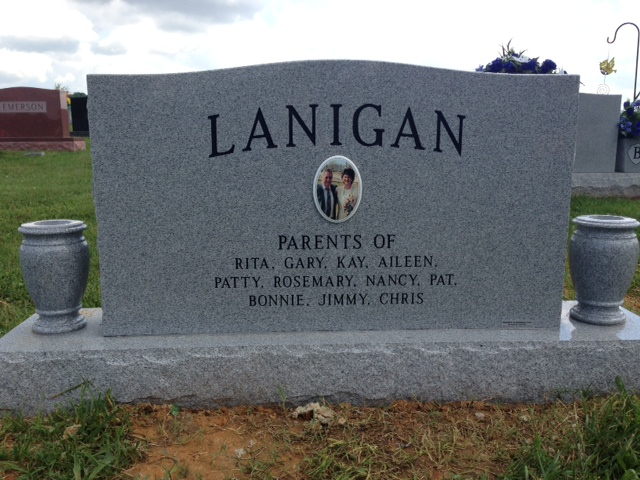 The Monument of Pat  Jean Lanigan