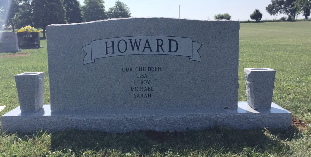 The Monument of Matt  Eva Lee Cochran Howard