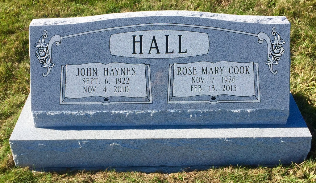 The Monument of John Haynes  Rose Mary Cook Hall