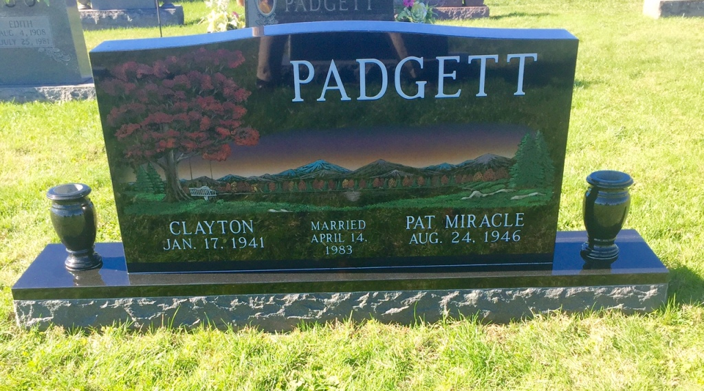 The Monument of Clayton  Pat Miracle Padgett