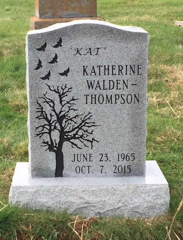 The Monument of Katherine Kat Walden-Thompson