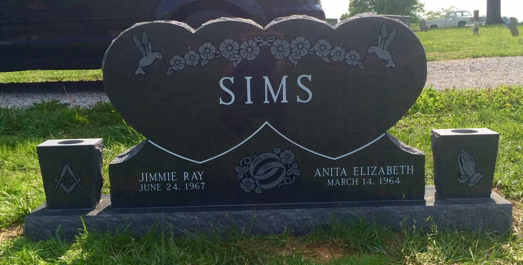 The Monument of Jimmie Ray  Anita Elizabeth Sims