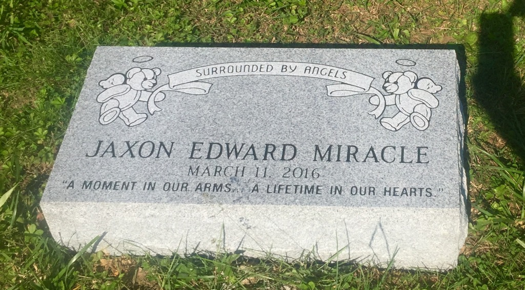 The Monument of Jaxon Edward Miracle