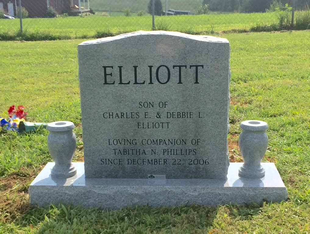The Monument of Brandon Scott Scotty Elliott