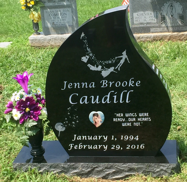 The Monument of Jenna Brooke Caudill