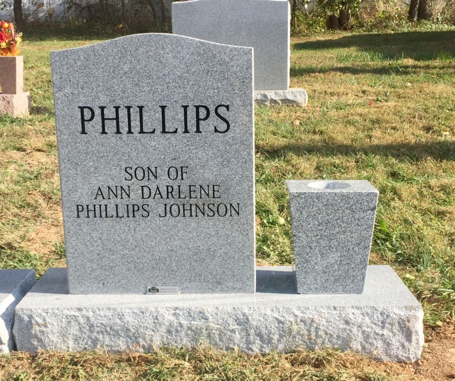 The Monument of Christopher Michael Phillips
