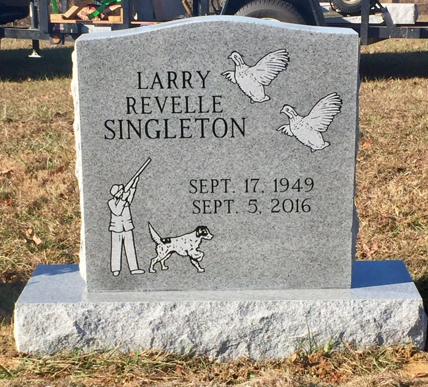 The Monument of Larry Revelle Singleton