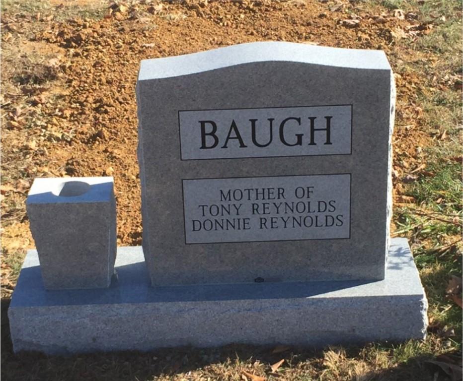 The Monument of Bertha Adams Baugh