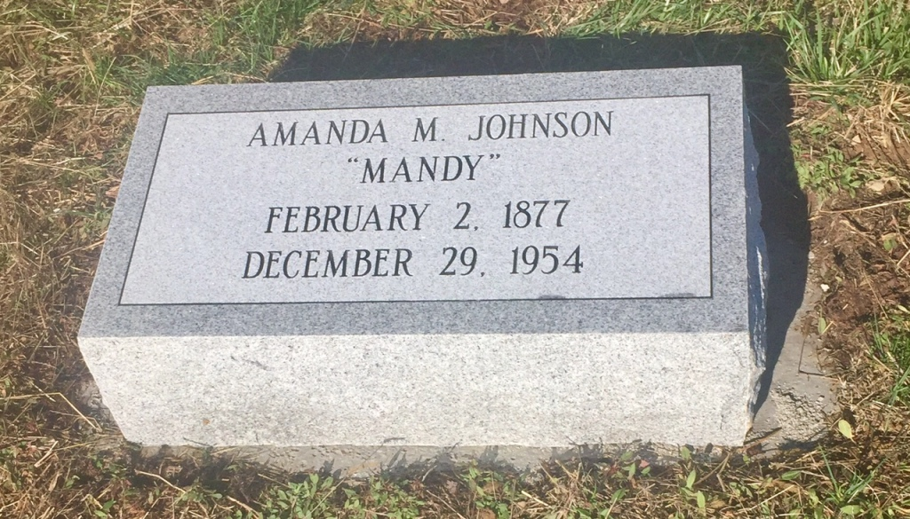 The Monument of Amanda M. Mandy Johnson