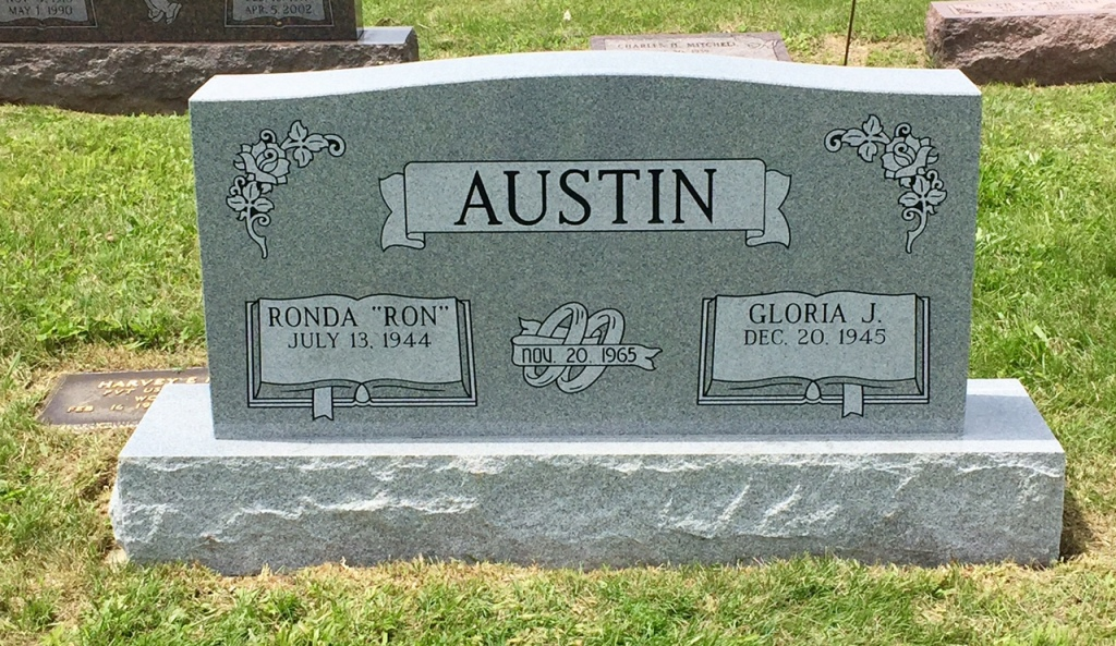 The Monument of Ronda Ron  Gloria J. Austin