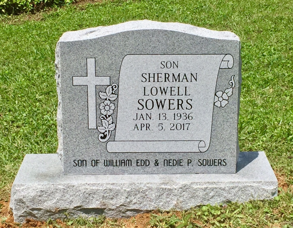 The Monument of Sherman Lowell Sowers