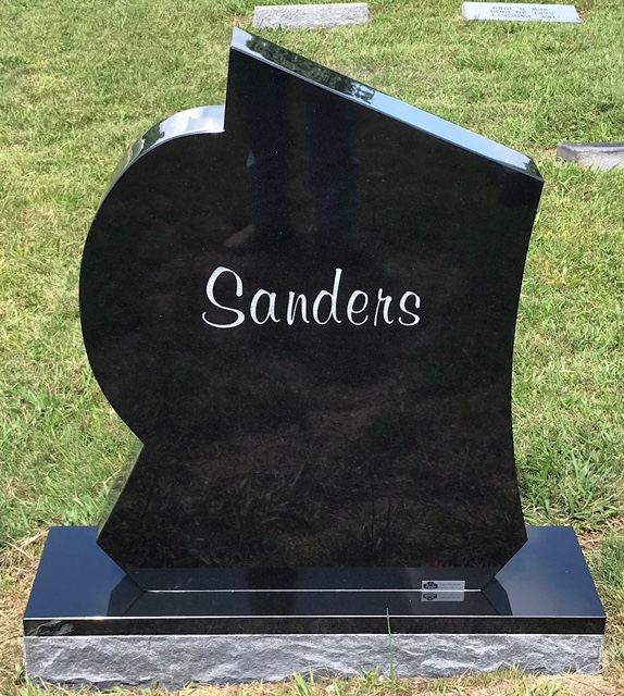 The Monument of Patrick O. Pat Sanders