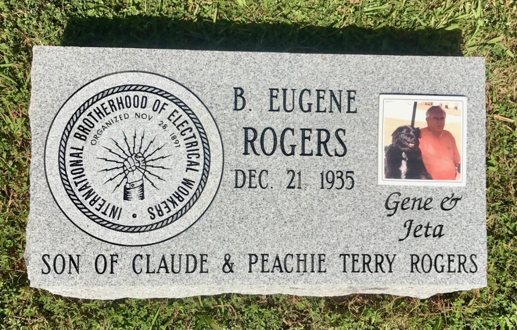 The Monument of B. Eugene Gene Rogers