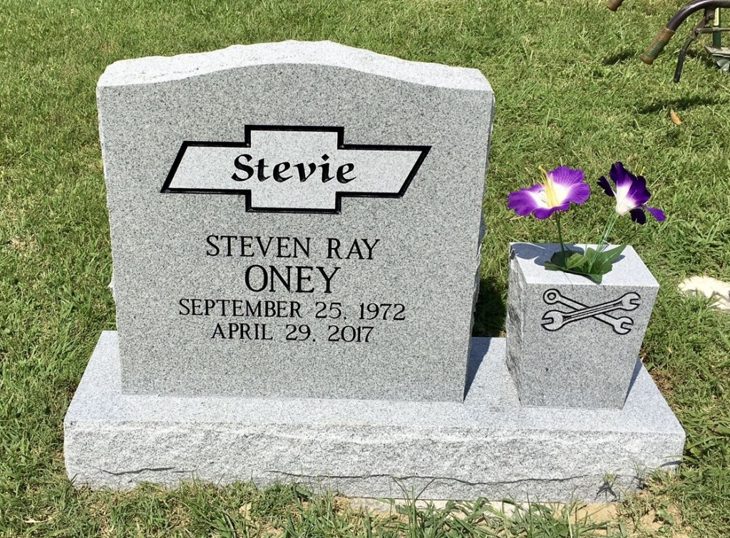 The Monument of Steven Ray Stevie Oney