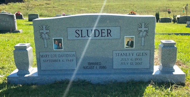The Monument of Stanley Glen  Mary Lou Davidson Sluder