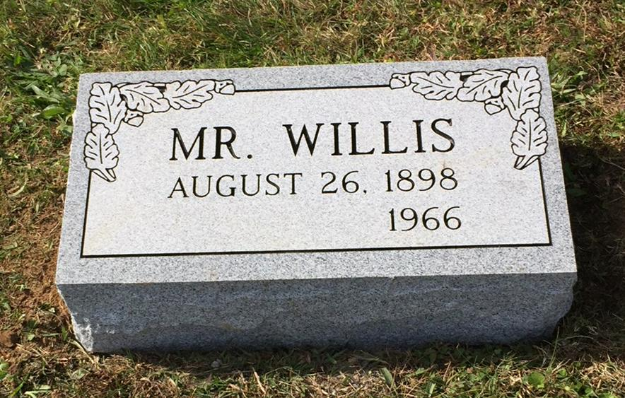 The Monument of Mr. Willis
