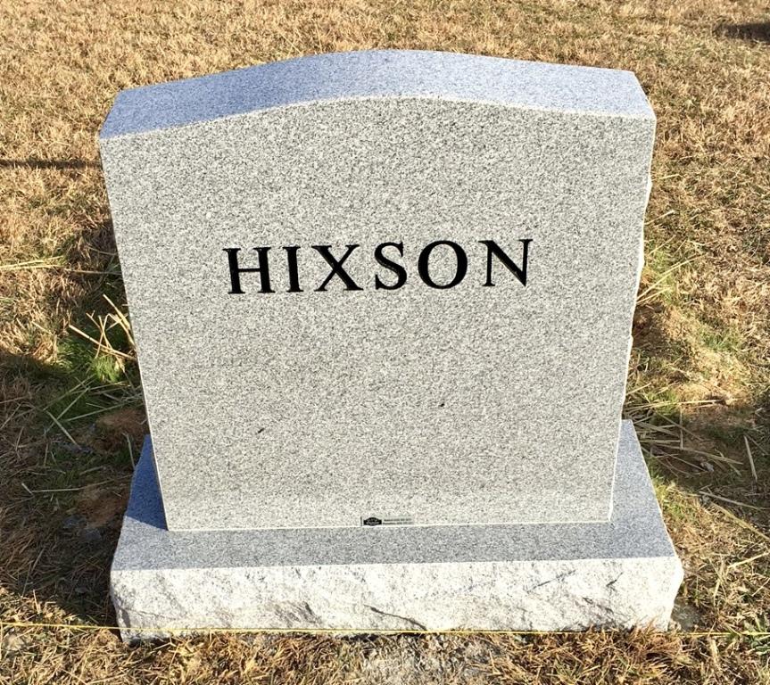 The Monument of Alex Hixson