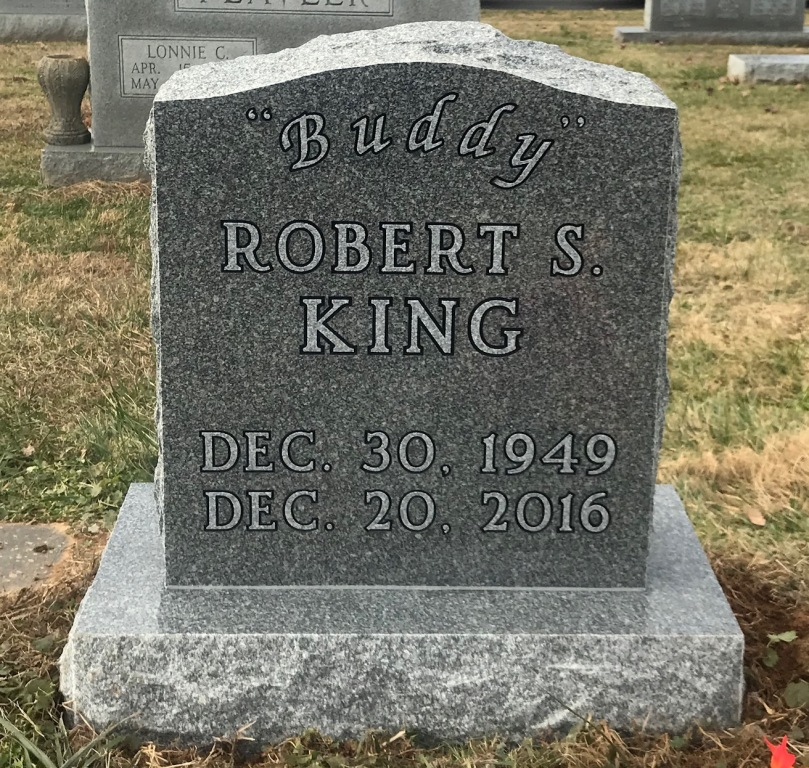 The Monument of Robert S. Buddy King