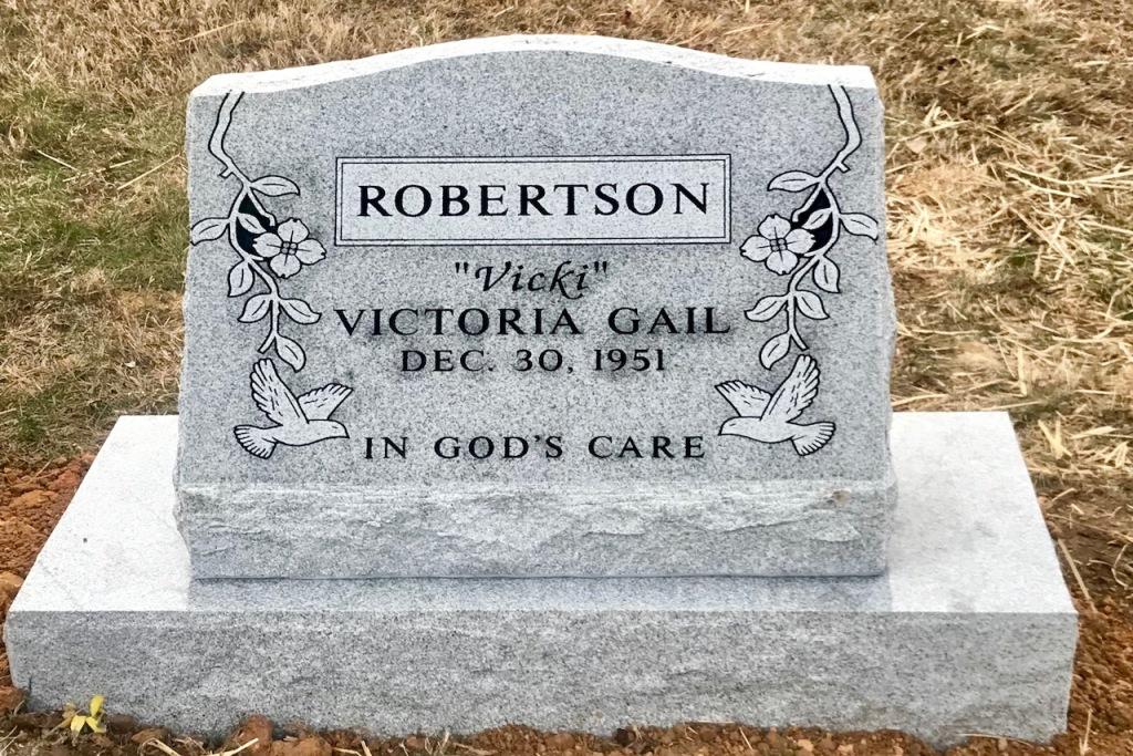 The Monument of Victoria Gail Vicki Robertson