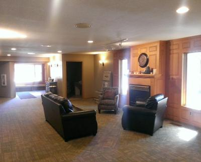 Brenny Funeral Chapel offers a comfortable and inviting area for families to gather.