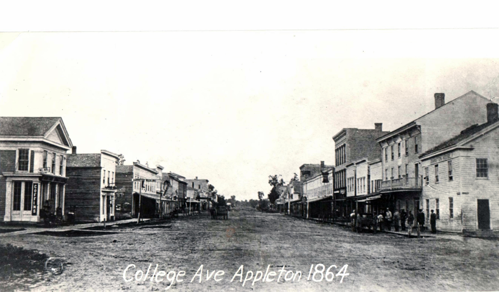 College Avenue Appleton 1864