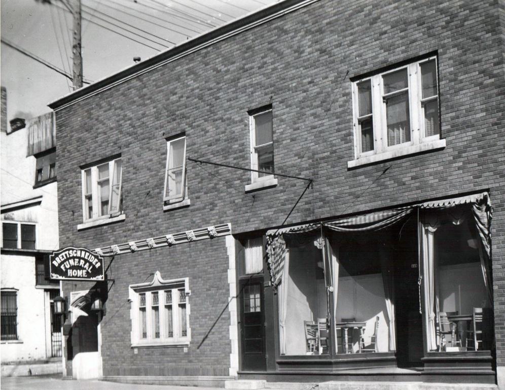 Brettschneider Funeral Home 1937
