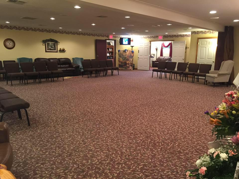 Our chapel, Burrell Funeral Services