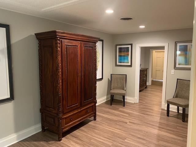 Hallway to Visitation Rooms