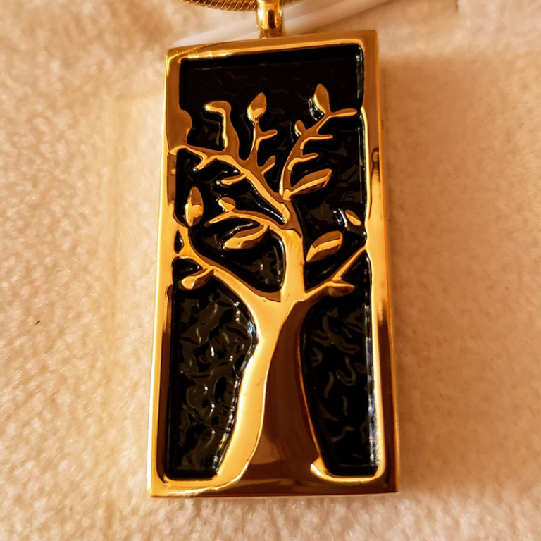 Black & Gold Tree $125